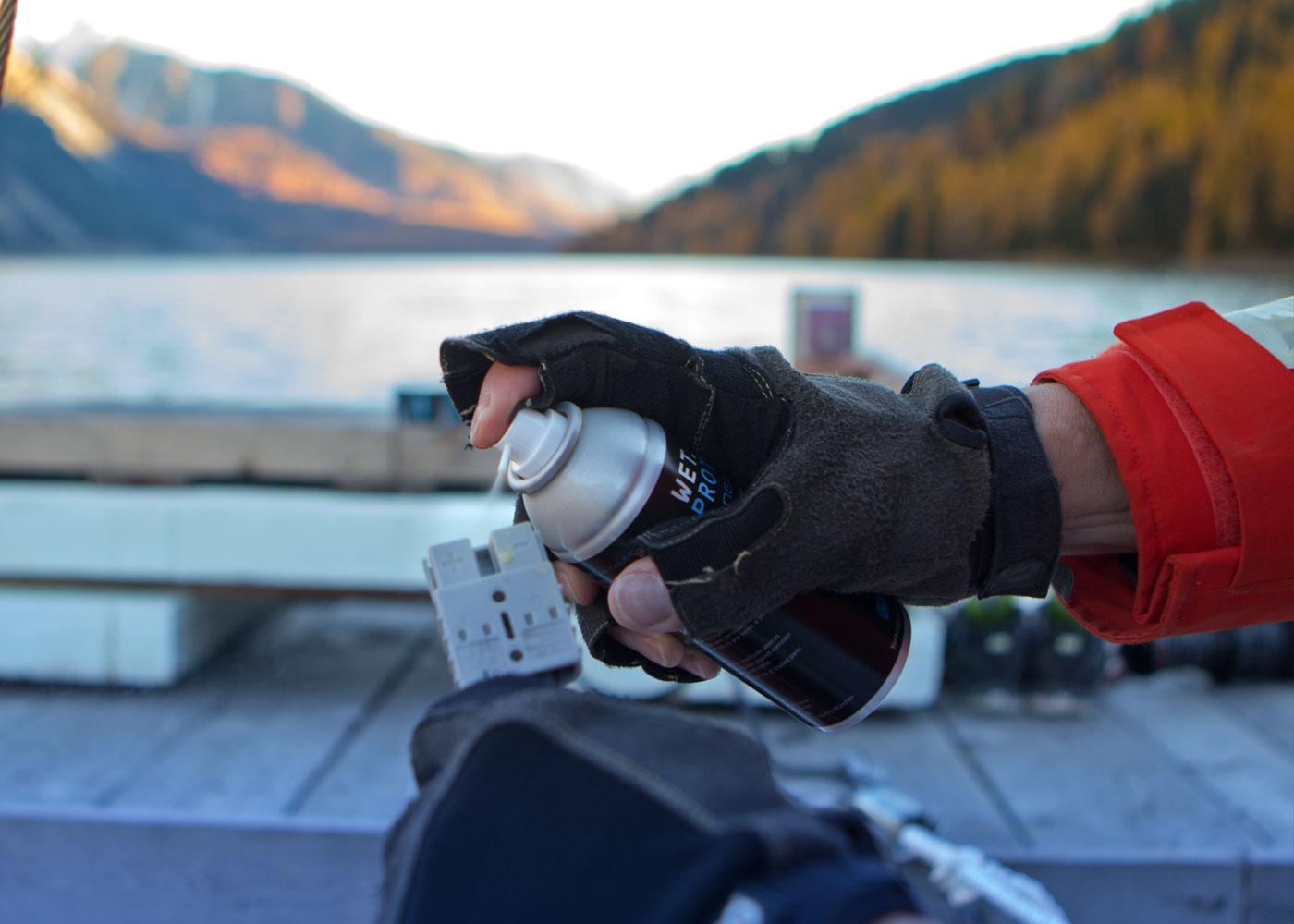 Schutz vor Rost, Feuchtigkeit, Korrosion, Kurzschluss im Wassersport