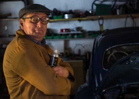 Schutz vor Feuchtigkeit, Rost, Korrosion, Kurzschluss, Automobil-Industrie / Oldtimer - Testimonial Ludwig